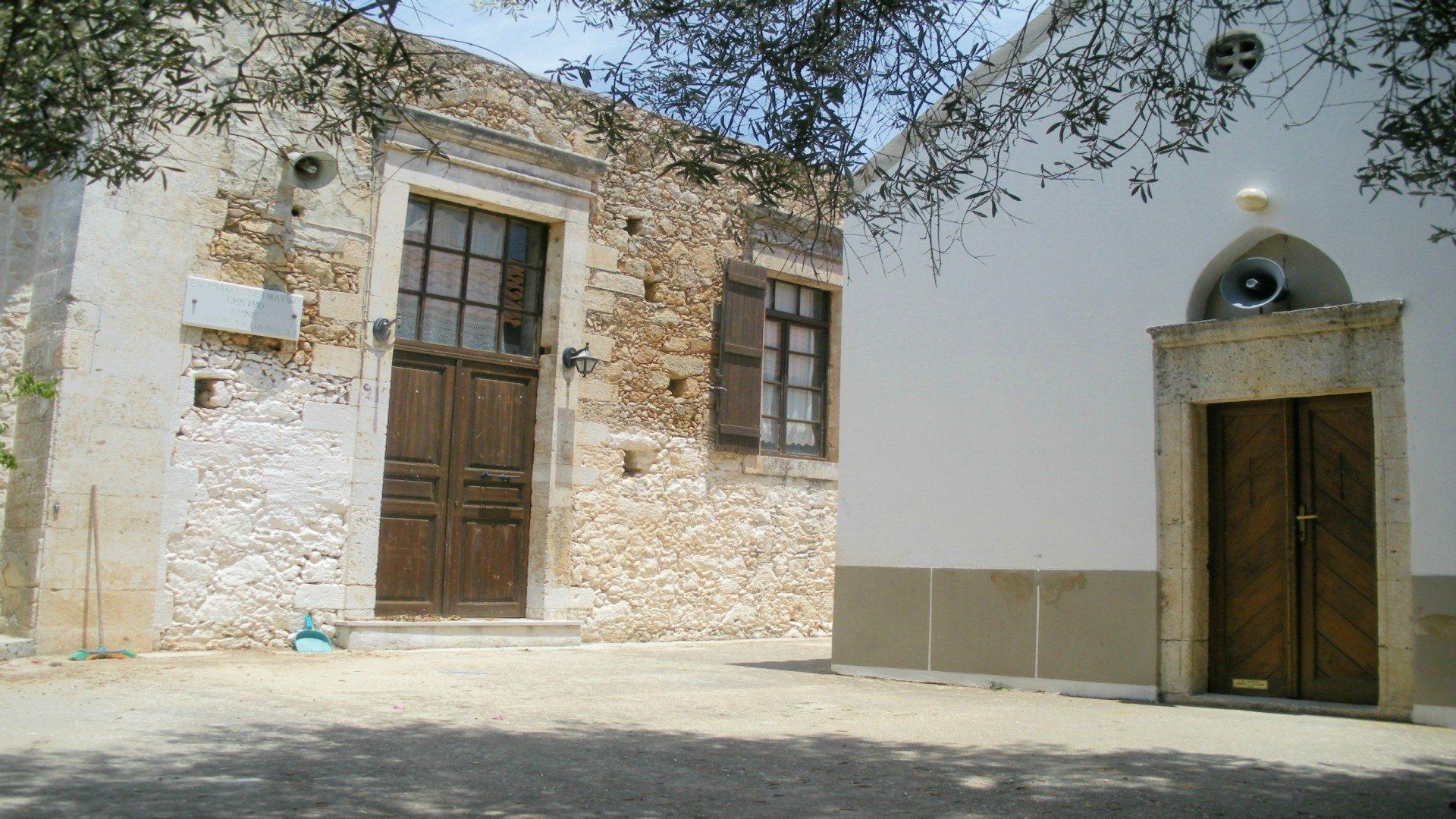 Prines village Rethymnon Crete